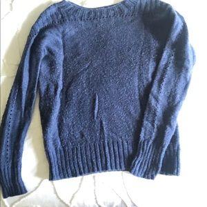 Blue gap sweater.